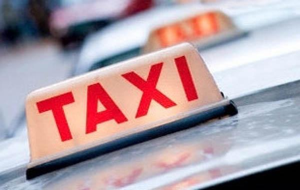 Mobiele betaalterminal voor taxt's